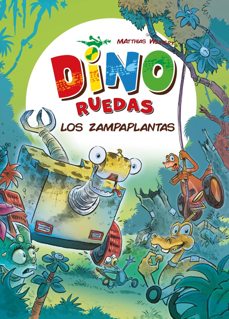 Dino Ruedas 3: Los zampaplantas: portada