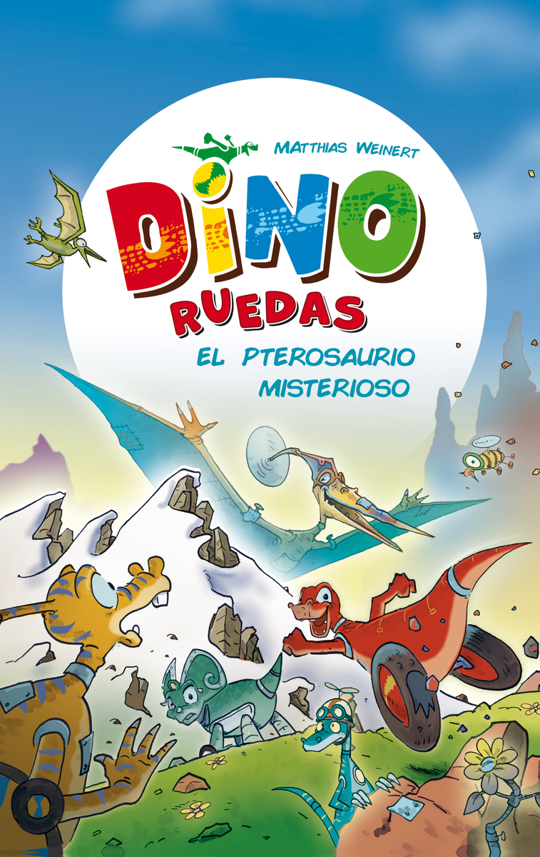 El pterosaurio misterioso: portada