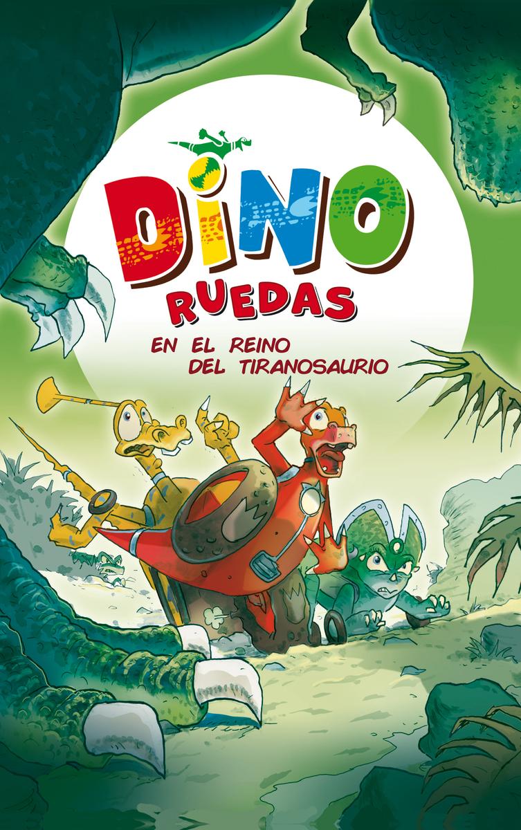 En el reino del tiranosaurio: portada
