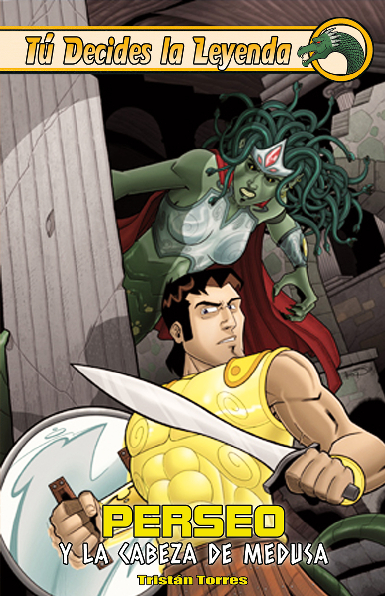 Perseo y la cabeza de Medusa: portada