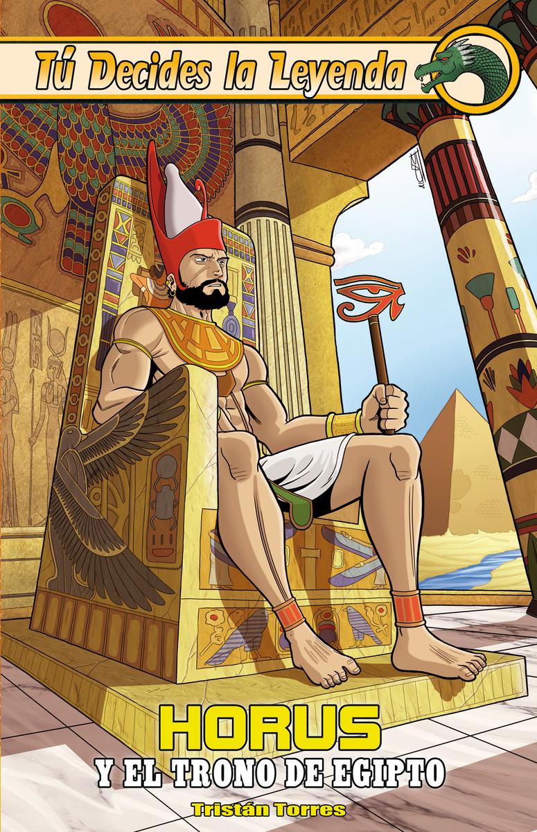 Horus y el trono de Egipto: portada