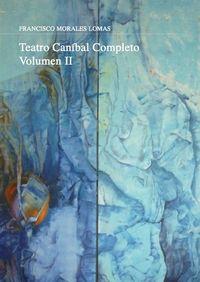 Teatro caníbal. Volumen II: portada