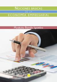 Nociones básicas de la economía empresarial: portada