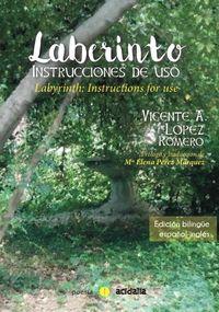 Laberinto: Instrucciones de uso: portada