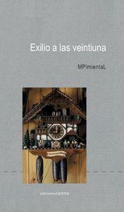 Exilio a las veintiuna: portada