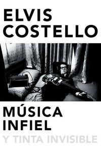 Música infiel y tinta invisible: portada