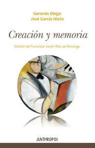 CREACIÓN Y MEMORIA: portada