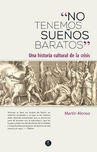«NO TENEMOS SUEÑOS BARATOS»: portada