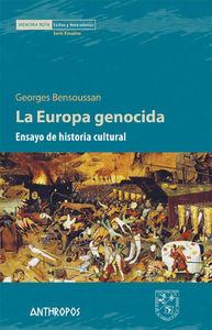 LA EUROPA GENOCIDA: portada