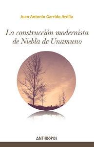 LA CONSTRUCCIÓN MODERNISTA DE NIEBLA DE UNAMUNO: portada