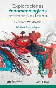 EXPLORACIONES FENOMENOLÓGICAS ACERCA DE LO EXTRAÑO: portada
