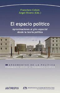 EL ESPACIO POLÍTICO: portada