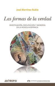 LAS FORMAS DE LA VERDAD: portada
