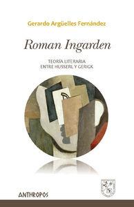 ROMAN INGARDEN: portada