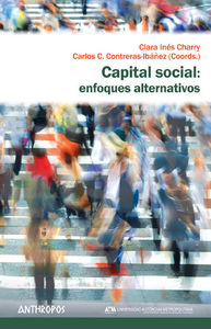 CAPITAL SOCIAL: ENFOQUES ALTERNATIVOS: portada