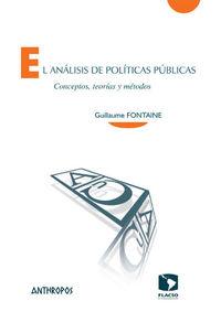 EL AN�LISIS DE POL�TICAS P�BLICAS: portada