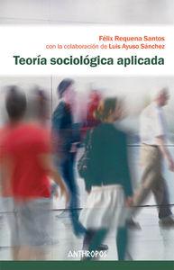 TEORÍA SOCIOLÓGICA APLICADA: portada
