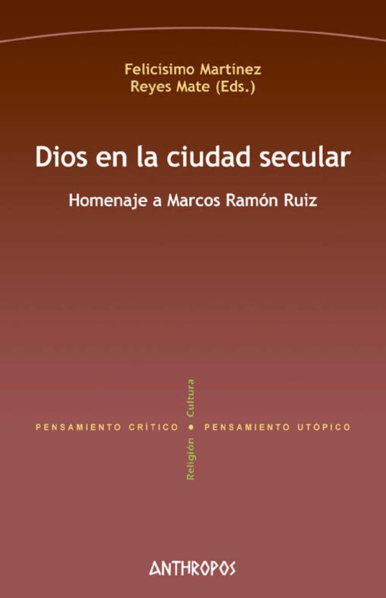DIOS EN LA CIUDAD SECULAR: portada