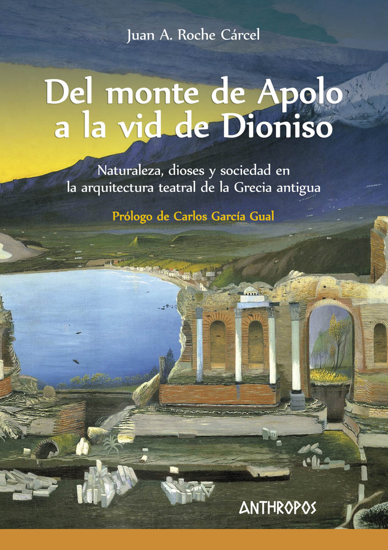 Del monte de Apolo a la vid de Dioniso: portada