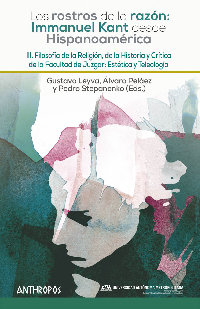 LOS ROSTROS DE LA RAZÓN: I. KANT DESDE HISPANOAMÉRICA. III: portada