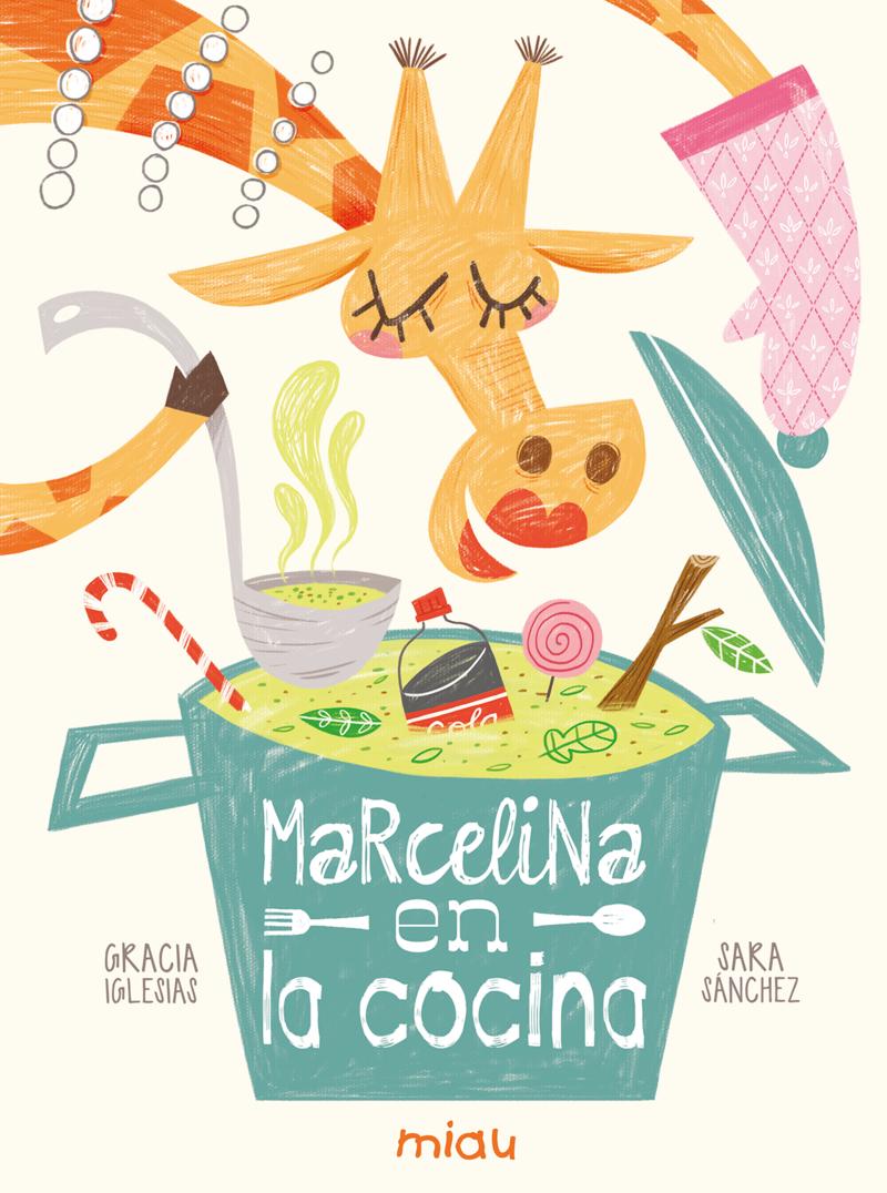 Marcelina en la cocina 6ª ED: portada