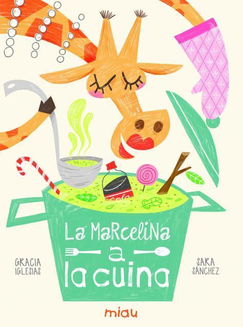 LA MARCELINA A LA CUINA (CATALÁN): portada