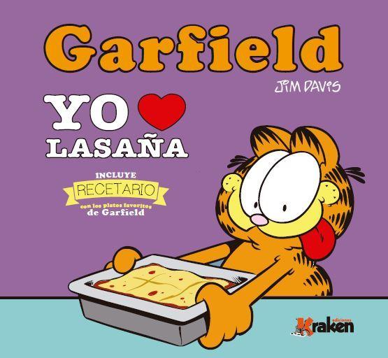 GARFIELD YO AMO LA LASAñA: portada