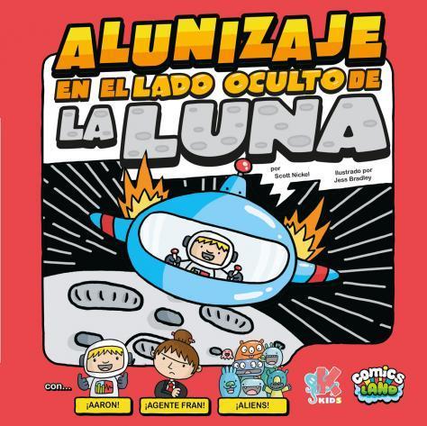 ALUNIZAJE EN EL LADO OSCURO DE LA LUNA: portada