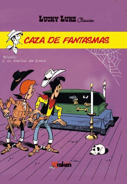 LUCKY LUKE. CAZA DE FANTASMAS: portada