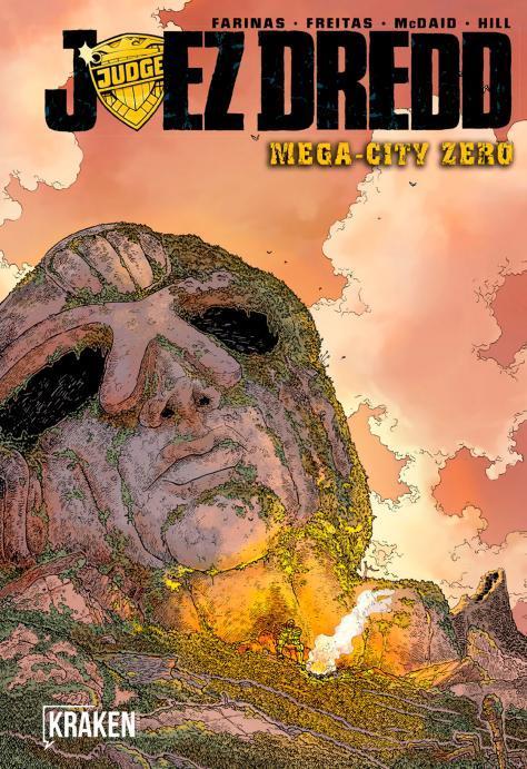 JUEZ DREDD. MEGA-CITY ZERO: portada
