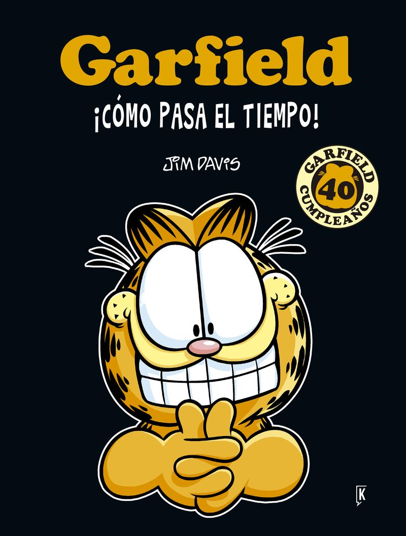 GARFIELD ¡CóMO PASA EL TIEMPO!: portada