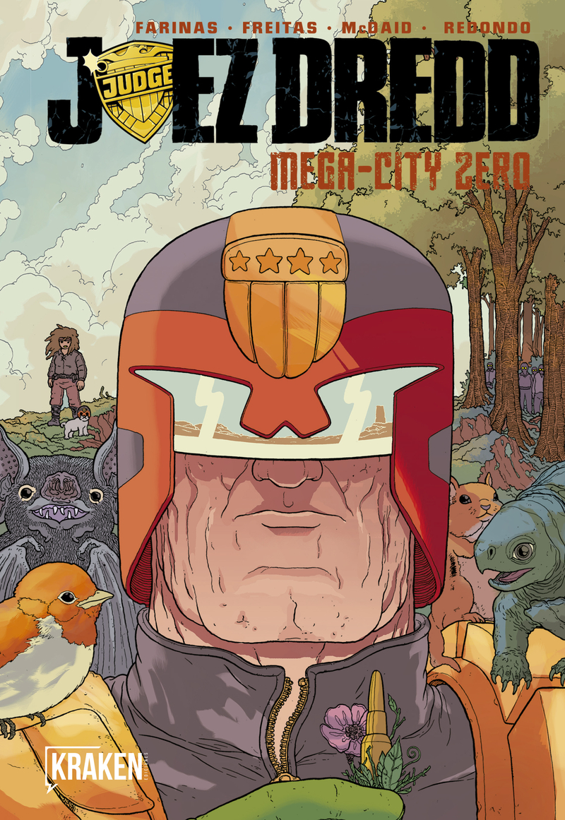 JUEZ DREDD. MEGA-CITY ZERO VOL. II: portada
