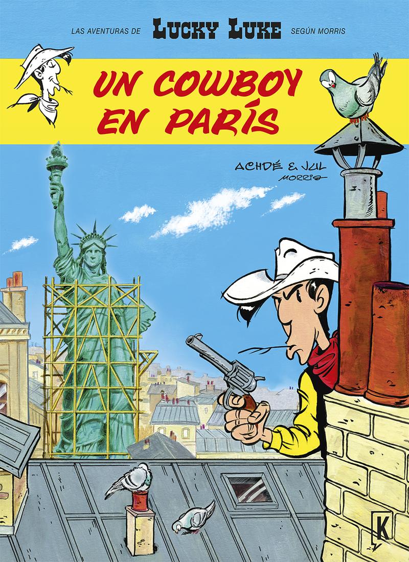 LUCKY LUKE. UN COWBOY EN PARíS: portada