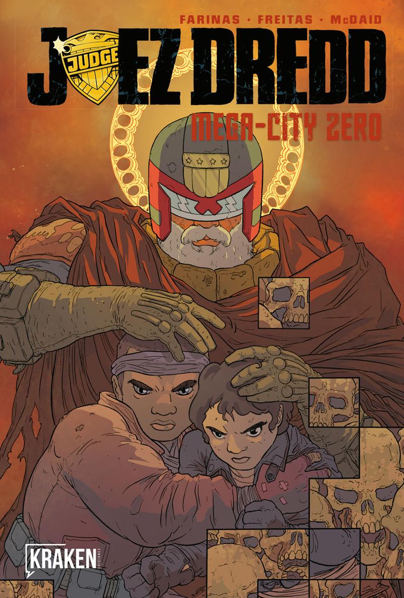 JUEZ DREDD - MEGA-CITY ZERO VOL III: portada