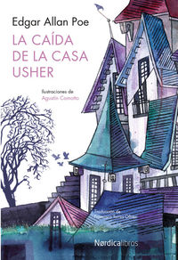 La caída de la Casa Usher: portada