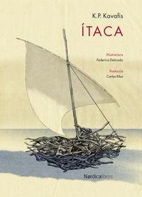 Ítaca (ed. catalán): portada