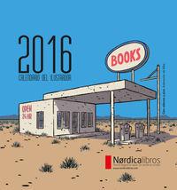 Calendario del Ilustrador 2016: portada