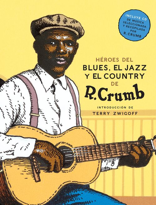 H�ROES DEL BLUES,  EL JAZZ Y  EL COUNTRY + CD (2.� edici�n): portada