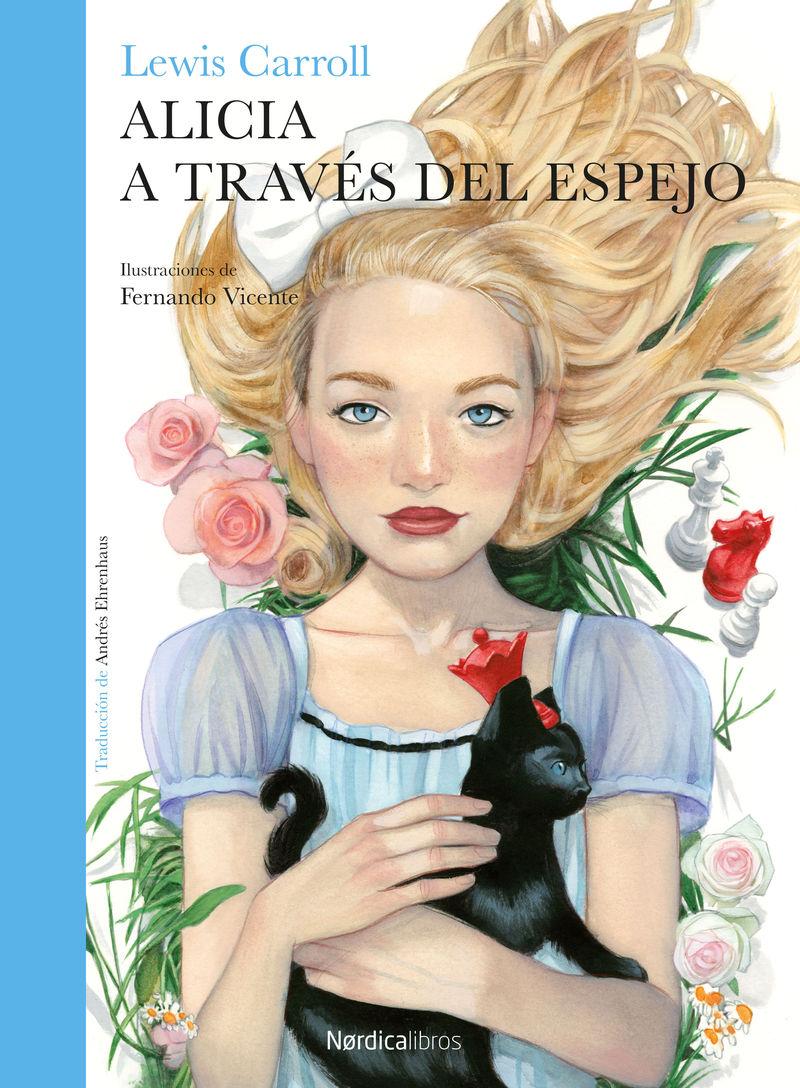 ALICIA A TRAVÉS DEL ESPEJO: portada
