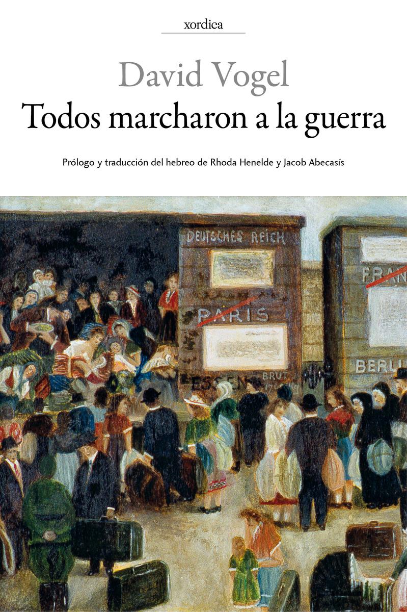 TODOS MARCHARON A LA GUERRA: portada