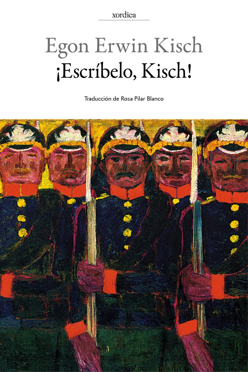 ¡ESCRÍBELO, KISCH!: portada