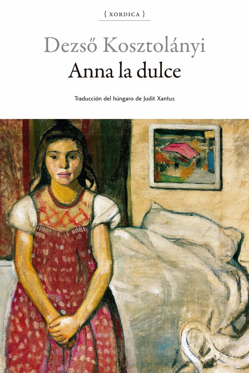 ANNA LA DULCE: portada