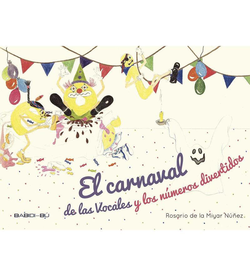 CARNAVAL DE LAS VOCALES Y NUMEROS DIVERTIDOS ,EL: portada
