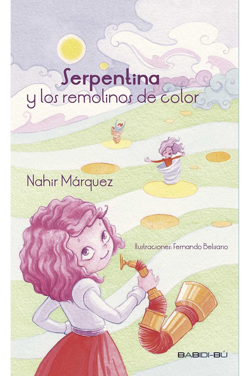 SERPENTINA Y LOS REMOLINOS DE COLOR: portada