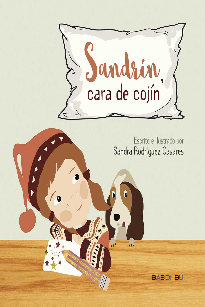 Sandrín, cara de cojín: portada