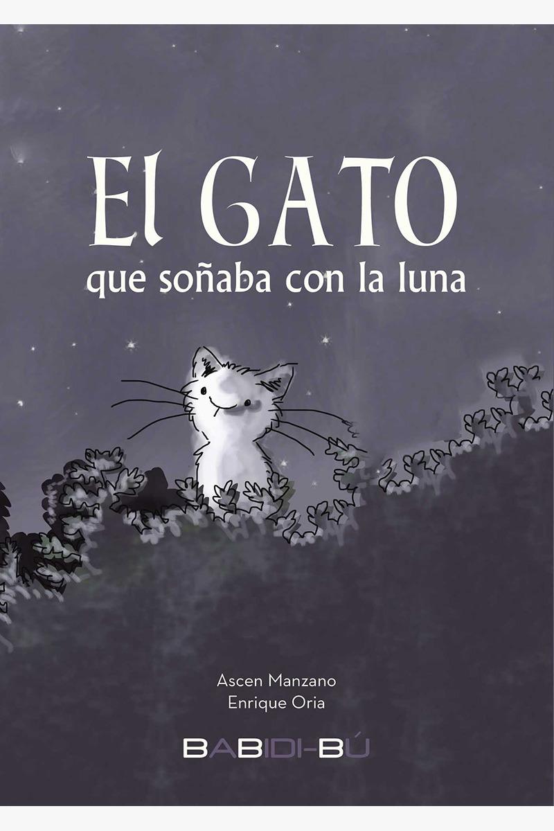 El gato que soñaba con la luna: portada