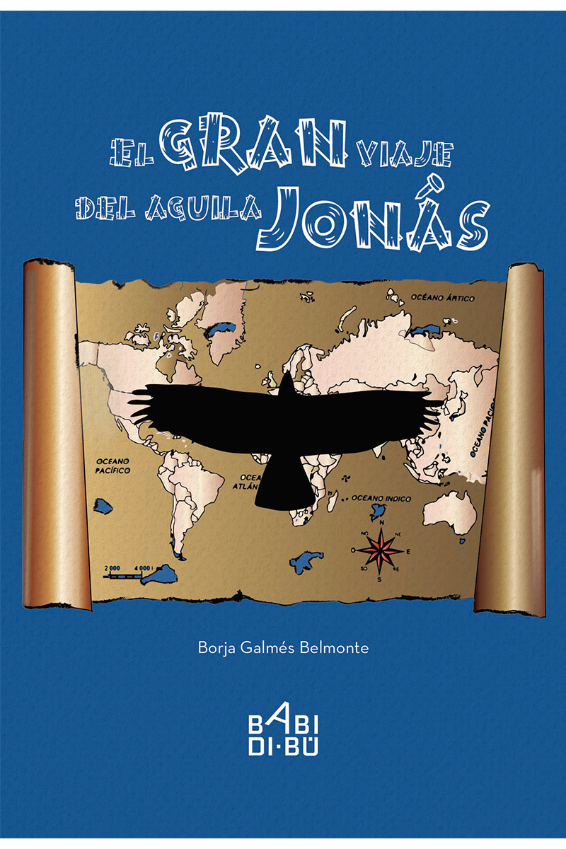 El gran viaje del águila Jonás: portada