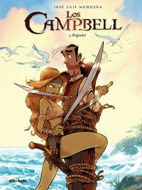 Los Campbell 3: portada