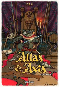 La saga de Atlas y Axis 3: portada