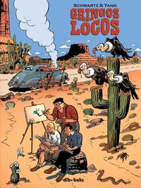 GRINGOS LOCOS: portada